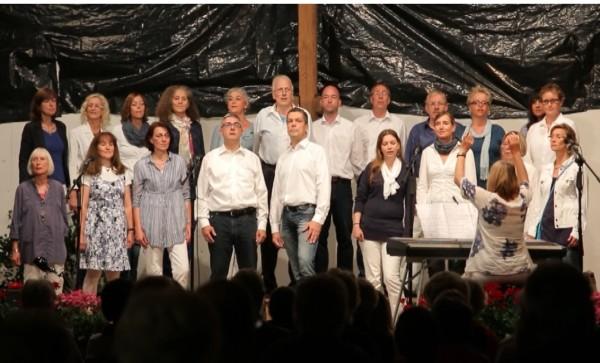 Mittsommer Chorfest Bassen 24 juni 2015